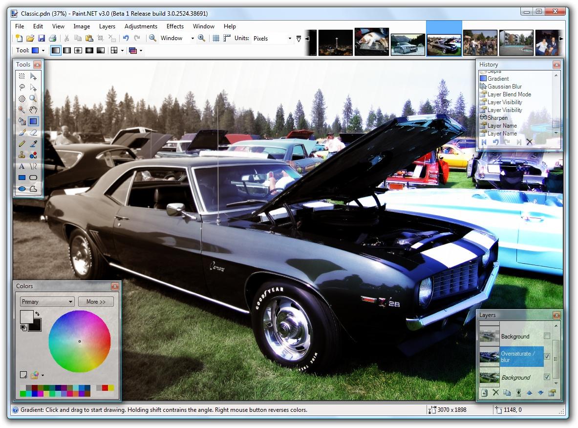 2. Paint.NET (vetëm Windows)
