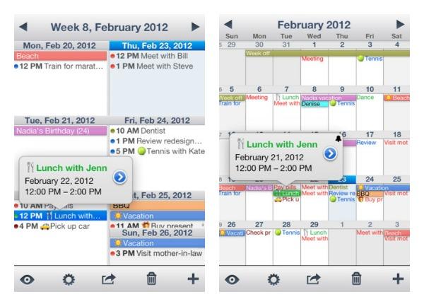5. Week Calendar